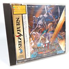 Covers Dragon Force II saturn