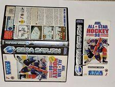 Covers NHL All-Star Hockey 98 saturn