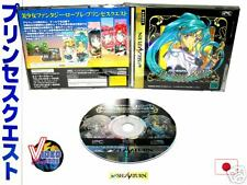 Covers Princess Quest saturn