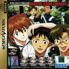 Covers Shinseiki Evangelion: Digital Card Library saturn