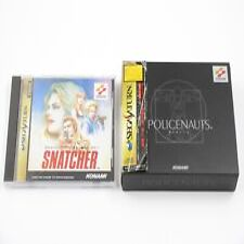 Covers Snatcher saturn