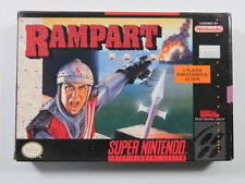 Covers Rampart snes