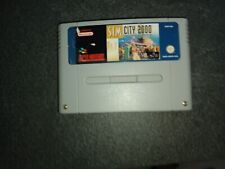Covers SimCity 2000 snes