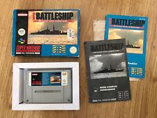 Covers Super Battleship snes