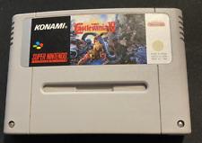 Covers Super Castlevania IV snes