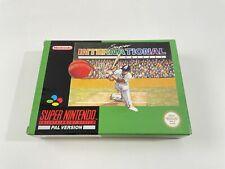 Covers Super International Cricket snes