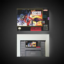 Covers Super Star Wars: The Empire Strikes Back snes