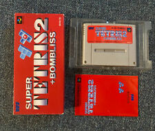Covers Super Tetris 2 + Bombliss snes
