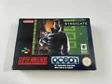 Covers Syndicate snes
