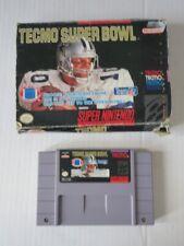 Covers Tecmo Super Bowl snes