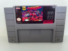 Covers The Amazing Spider-Man: Lethal Foes snes
