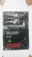 Covers Bulls vs. Blazers and the NBA Playoffs snes