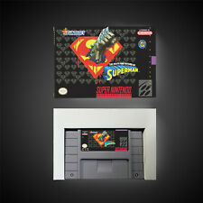 Covers The Death and Return of Superman snes