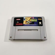 Covers The Incredible Hulk snes