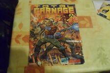 Covers Total Carnage snes