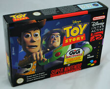 Covers Toy Story snes