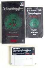 Covers Wizardry V: Heart of the Maelstrom snes
