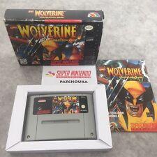 Covers Wolverine: Adamantium Rage snes
