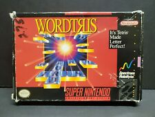 Covers Wordtris snes