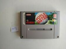 Covers World Masters Golf snes