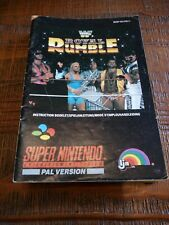 Covers WWF Royal Rumble snes