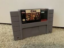 Covers Clue snes