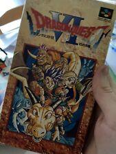 Covers Dragon Quest VI: Maboroshi no Daichi snes