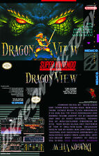 Covers Dragon View snes