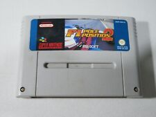 Covers F1 Pole Position 2 snes