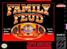 Covers Family Feud snes