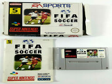 Covers FIFA International Soccer snes