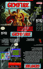 Covers Gemfire snes