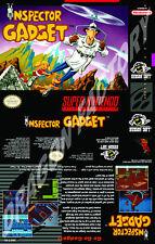 Covers Inspector Gadget snes