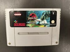 Covers Jurassic Park 2: The Chaos Continues snes
