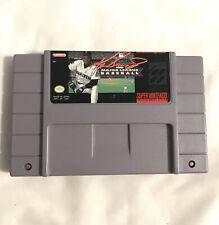 Covers Ken Griffey Jr. Presents Major League Baseball snes