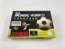Covers Kick Off 3: European Challenge snes