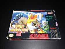 Covers King of the Monsters 2 snes