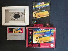 Covers Lamborghini American Challenge snes
