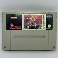 Covers Manchester United Championship Soccer snes