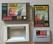 Covers Mario is Missing! snes