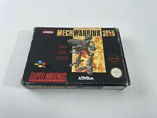 Covers MechWarrior 3050 snes
