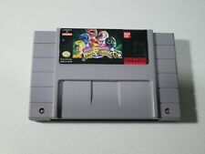 Covers Mighty Morphin Power Rangers snes