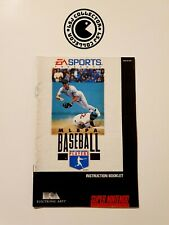 Covers MLBPA Baseball snes