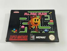 Covers Ms. Pac-Man snes