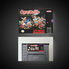 Covers Ogre Battle: The March of the Black Queen snes
