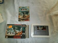 Covers P.T.O.: Pacific Theater of Operations snes