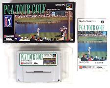 Covers PGA Tour Golf snes