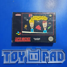 Covers Beavis and Butt-head snes