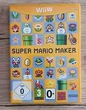 Covers Super Mario Maker wiiu