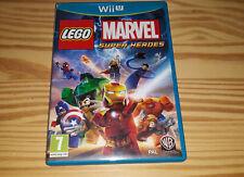 Covers LEGO Marvel Super Heroes wiiu